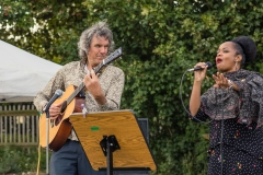 "John Etheridge with Vimala Rowe debut their ""Anthem to the Heath"""